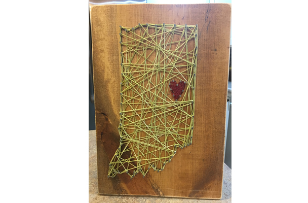 String Art beck by design October 2017